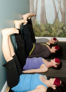 Restorative Yoga - Legs Up The Wall Pose